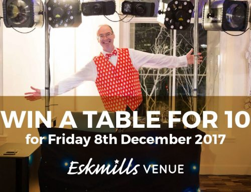 WIN a table of 10 at one of our legendary Christmas party nights!