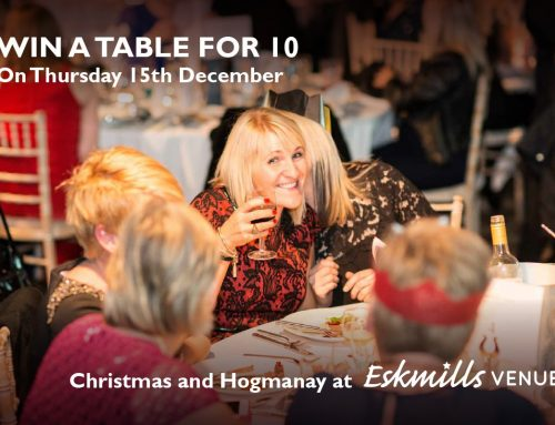 WIN an unforgettable Christmas night out, for you and a group of friends, at East Lothian's favourite party venue – Eskmills Venue.