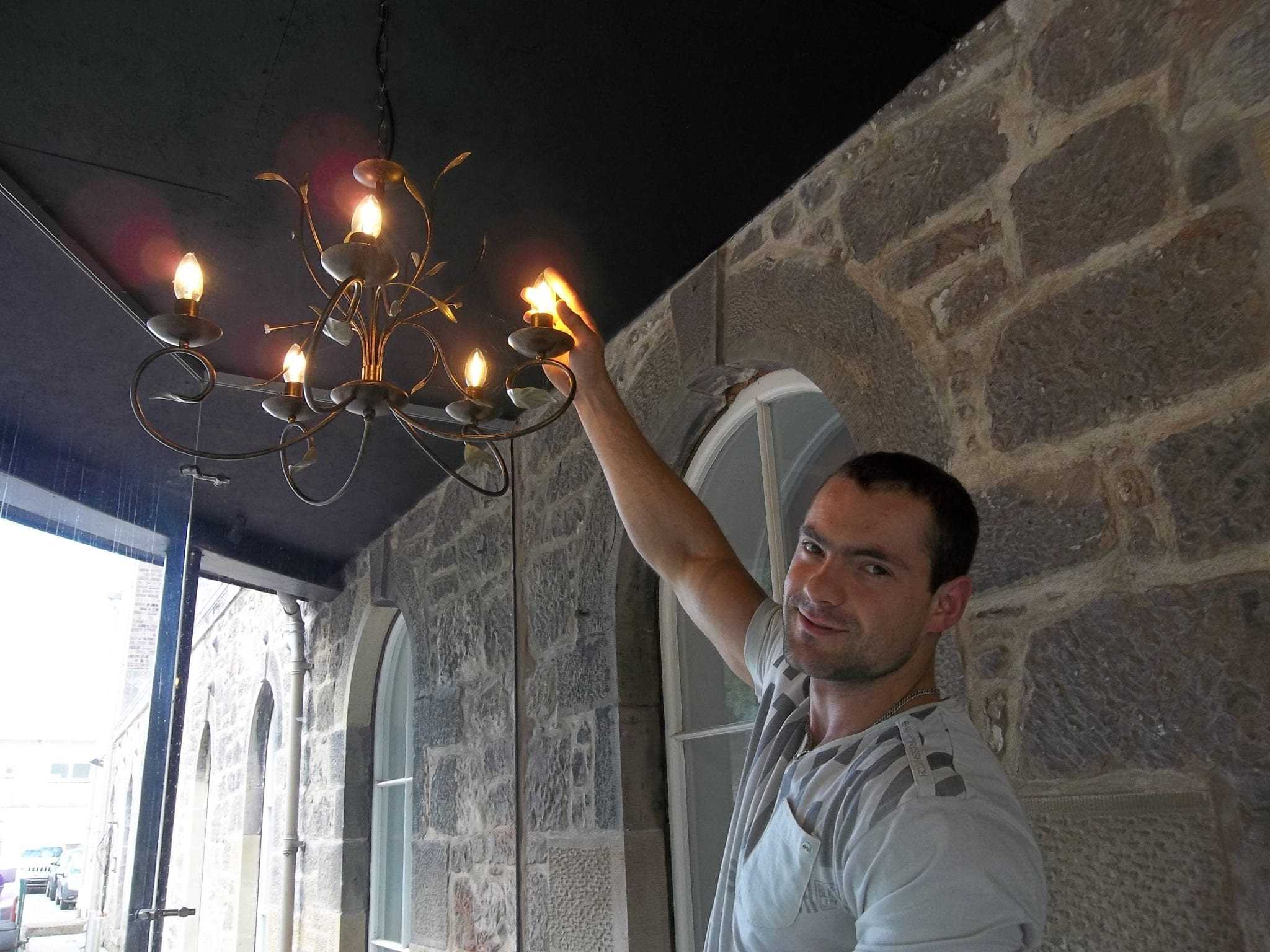 green wedding in musselburgh initiative with led light replacements