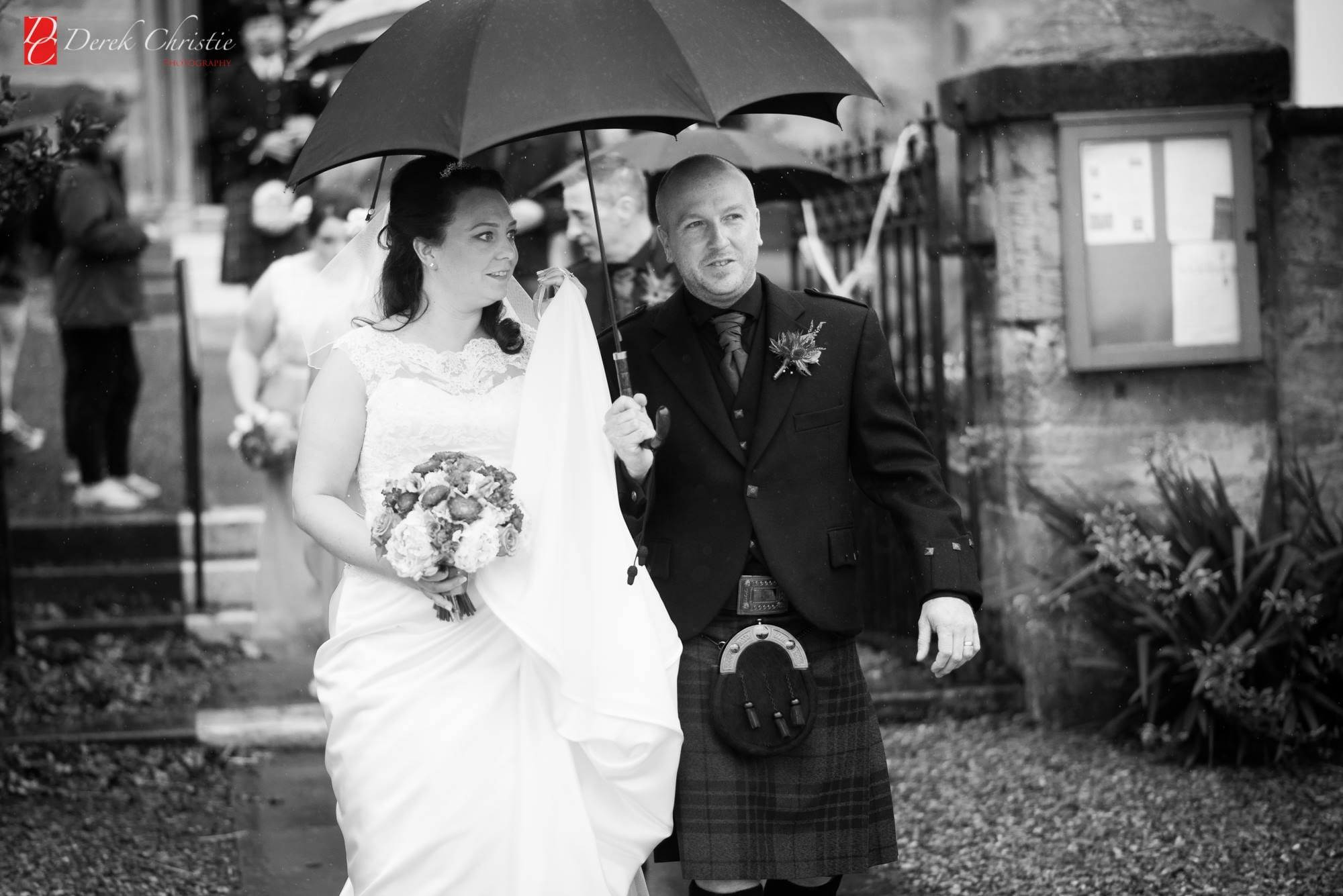 wedding couple east lothian